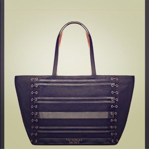 VS Weekender Black/Gold Tote  2018 Limited Edition